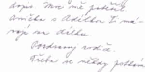 Dopisy autorovi - část druhá